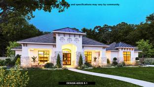4053S - Santa Rita Ranch 90': Liberty Hill, Texas - Perry Homes