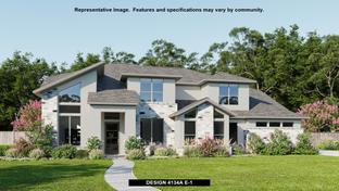 4134A - Sundance Ranch: San Antonio, Texas - Perry Homes