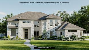 4354A - Johnson Ranch 85': Bulverde, Texas - Perry Homes