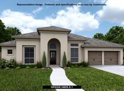3465S - The Grove at Vintage Oaks 65': New Braunfels, Texas - Perry Homes