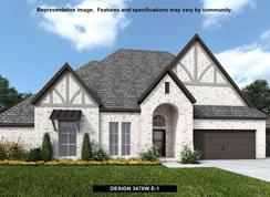 3478W - Fulbrook on Fulshear Creek 80': Fulshear, Texas - Perry Homes