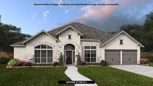 3714S - River Valley 70': Devine, Texas - Perry Homes