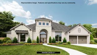 3924S - Cane Island 80': Katy, Texas - Perry Homes