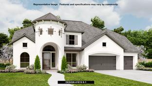 4191S - Kinder Ranch 70': San Antonio, Texas - Perry Homes