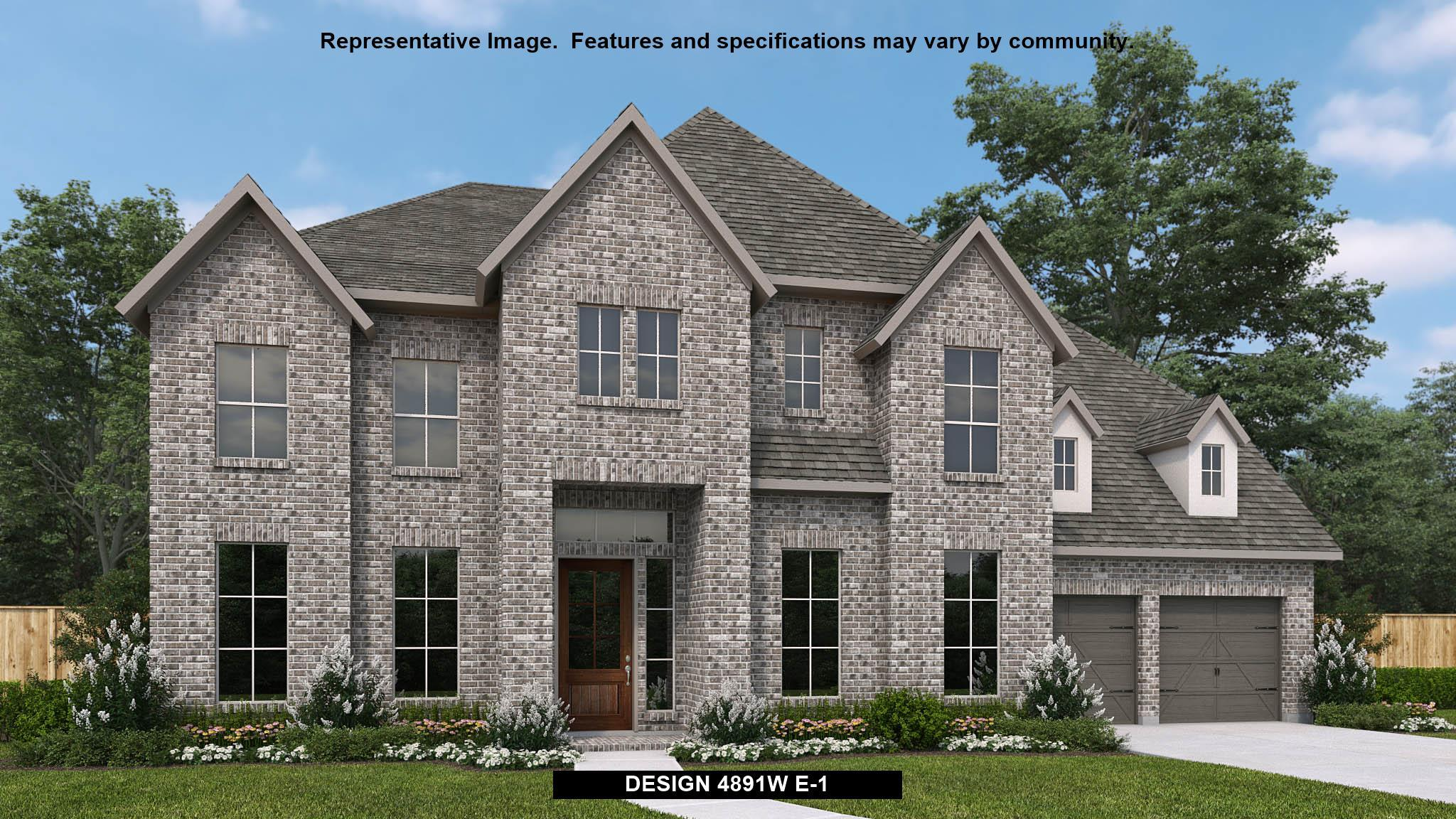 Exterior featured in the 4891W By Perry Homes in Austin, TX