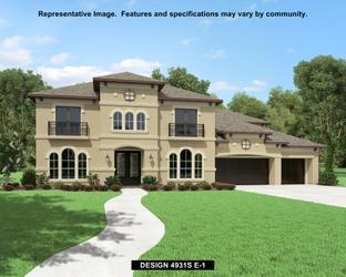 4931S - Canyon Falls 80'/100': Northlake, Texas - Perry Homes