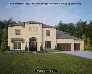 4967S - Rancho Sienna 70': Georgetown, Texas - Perry Homes