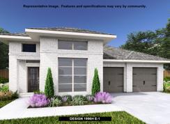 1996H - Deerbrooke 50': Leander, Texas - Perry Homes