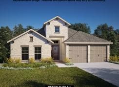 2110S - Deerbrooke 50': Leander, Texas - Perry Homes