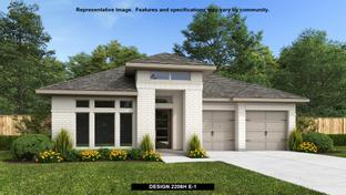 2206H - The Grove at Vintage Oaks 55': New Braunfels, Texas - Perry Homes