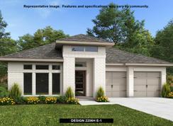 2206H - Palmera Ridge 50': Leander, Texas - Perry Homes