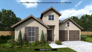 2251S - The Ranches at Creekside 55': Boerne, Texas - Perry Homes