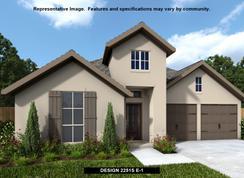 2251S - Santa Rita Ranch 50': Liberty Hill, Texas - Perry Homes