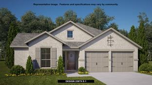 2267S - Kinder Ranch 50': San Antonio, Texas - Perry Homes
