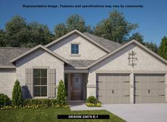 2267S - Johnson Ranch 55': Bulverde, Texas - Perry Homes