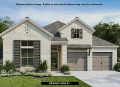 2293H - Deerbrooke 50': Leander, Texas - Perry Homes