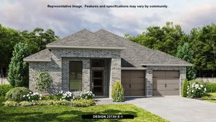 2373H - Rancho Sienna 50': Georgetown, Texas - Perry Homes