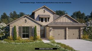 2420S - Veramendi 50': New Braunfels, Texas - Perry Homes
