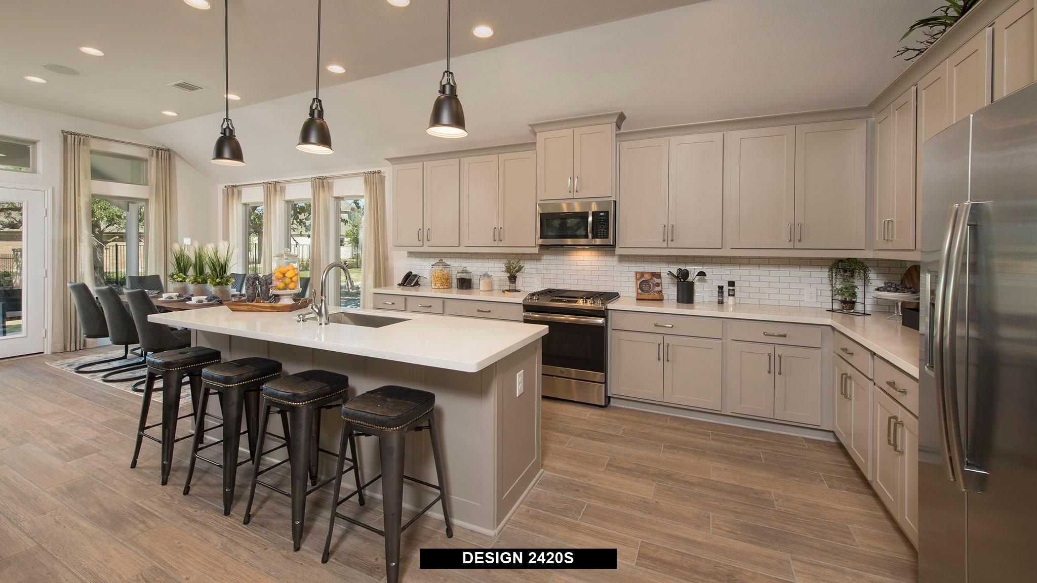 Kitchen featured in the 2420S By Perry Homes in San Antonio, TX