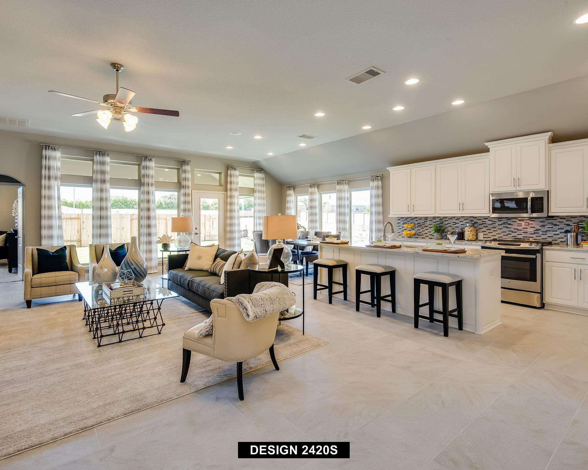 Living Area featured in the 2420S By Perry Homes in San Antonio, TX