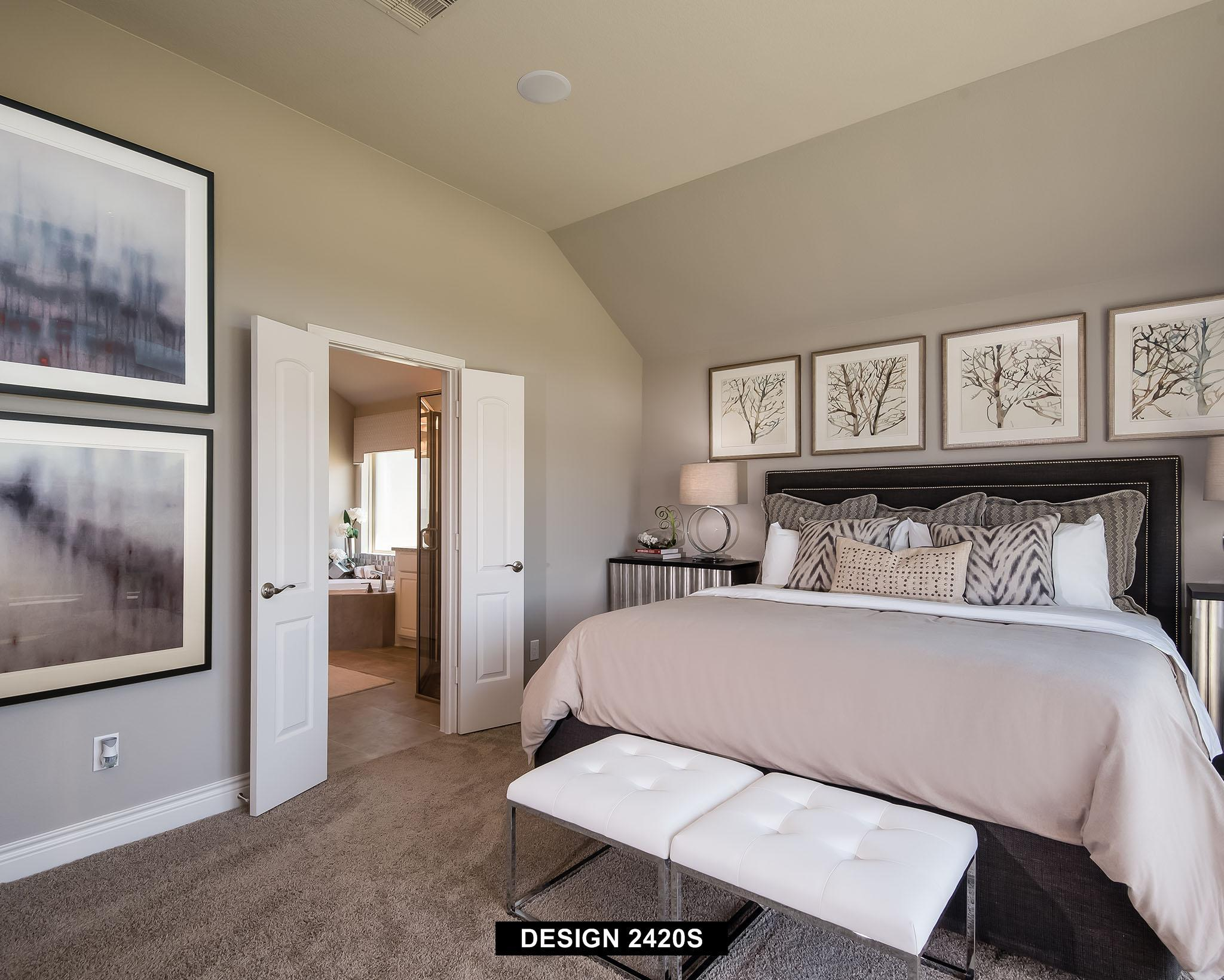 Bedroom featured in the 2420S By Perry Homes in Austin, TX