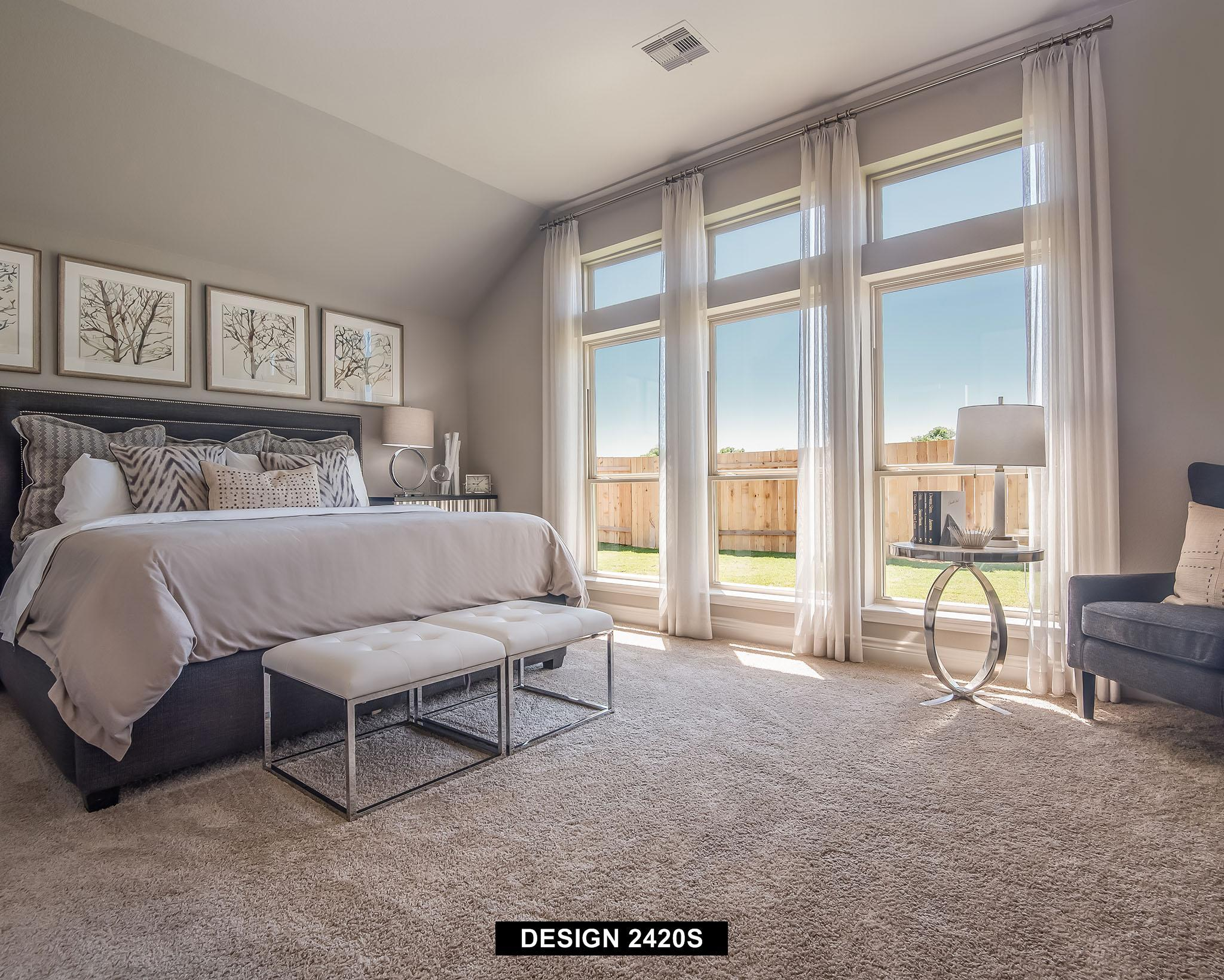Bedroom featured in the 2420S By Perry Homes in San Antonio, TX