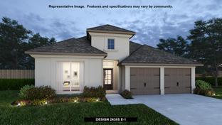 2438S - Trails at Westpointe 50': San Antonio, Texas - Perry Homes