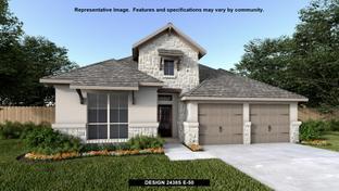 2438S - Homestead 65': Schertz, Texas - Perry Homes