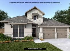 2438S - The Grove at Vintage Oaks 55': New Braunfels, Texas - Perry Homes