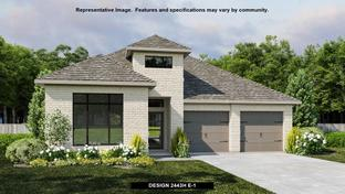 2443H - Fronterra at Westpointe 50': San Antonio, Texas - Perry Homes