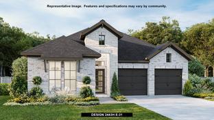 2443H - Kinder Ranch 50': San Antonio, Texas - Perry Homes