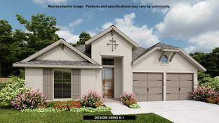 2504S - The Ranches at Creekside 55': Boerne, Texas - Perry Homes