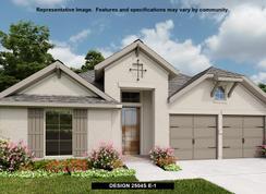 2504S - Deerbrooke 50': Leander, Texas - Perry Homes