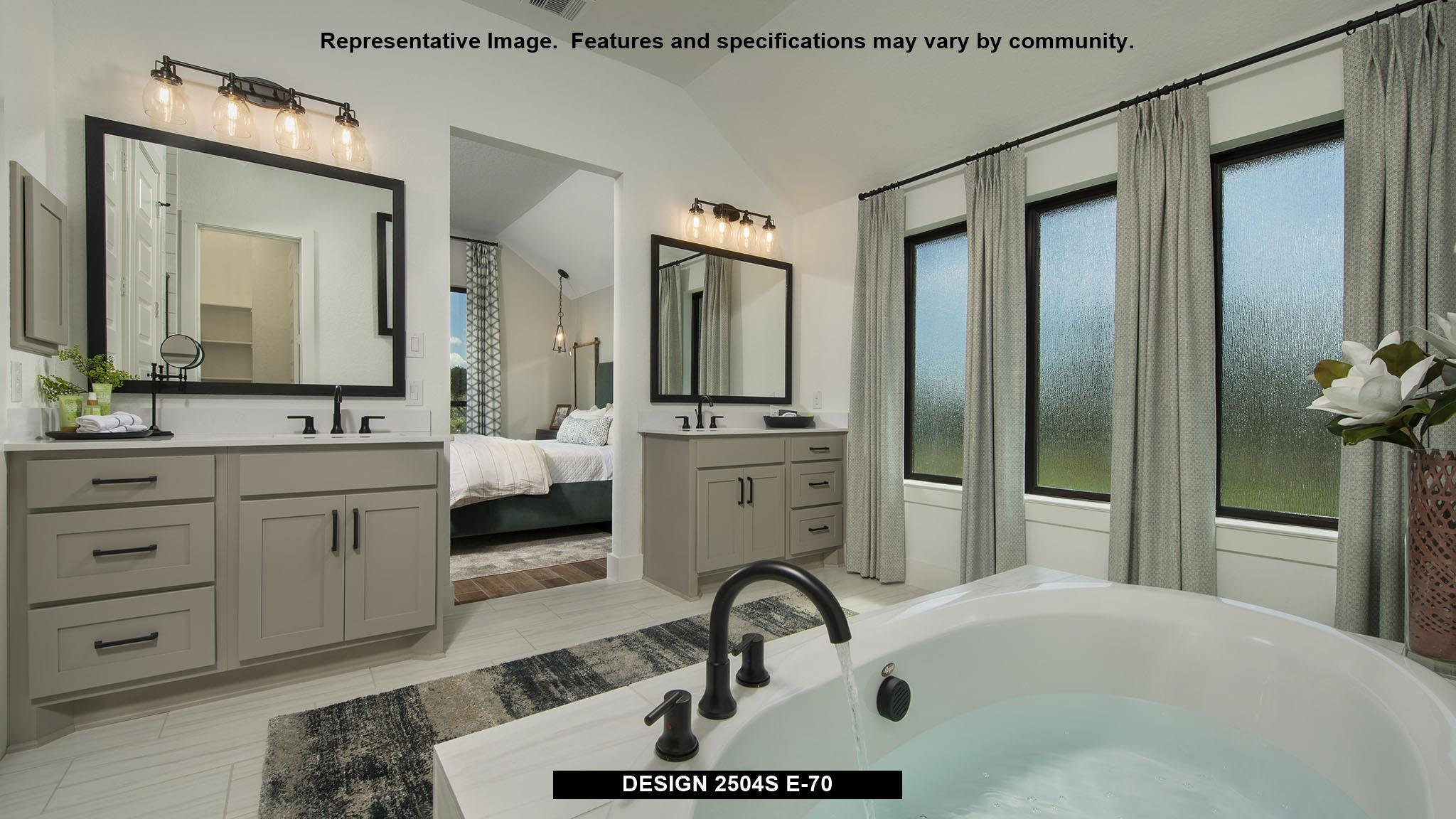 Bathroom featured in the 2504S By Perry Homes in San Antonio, TX