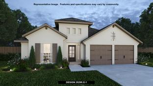 2529S - The Grove at Vintage Oaks 55': New Braunfels, Texas - Perry Homes
