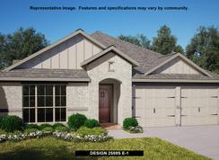2589S - Deerbrooke 50': Leander, Texas - Perry Homes