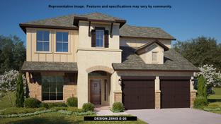 2598S - The Ranches at Creekside 55': Boerne, Texas - Perry Homes
