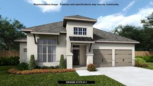 2737S - Kallison Ranch 60': San Antonio, Texas - Perry Homes