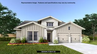 2738S - The Village of Mill Creek 60': Seguin, Texas - Perry Homes
