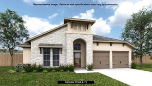 2738S - Sweetwater 55': Austin, Texas - Perry Homes