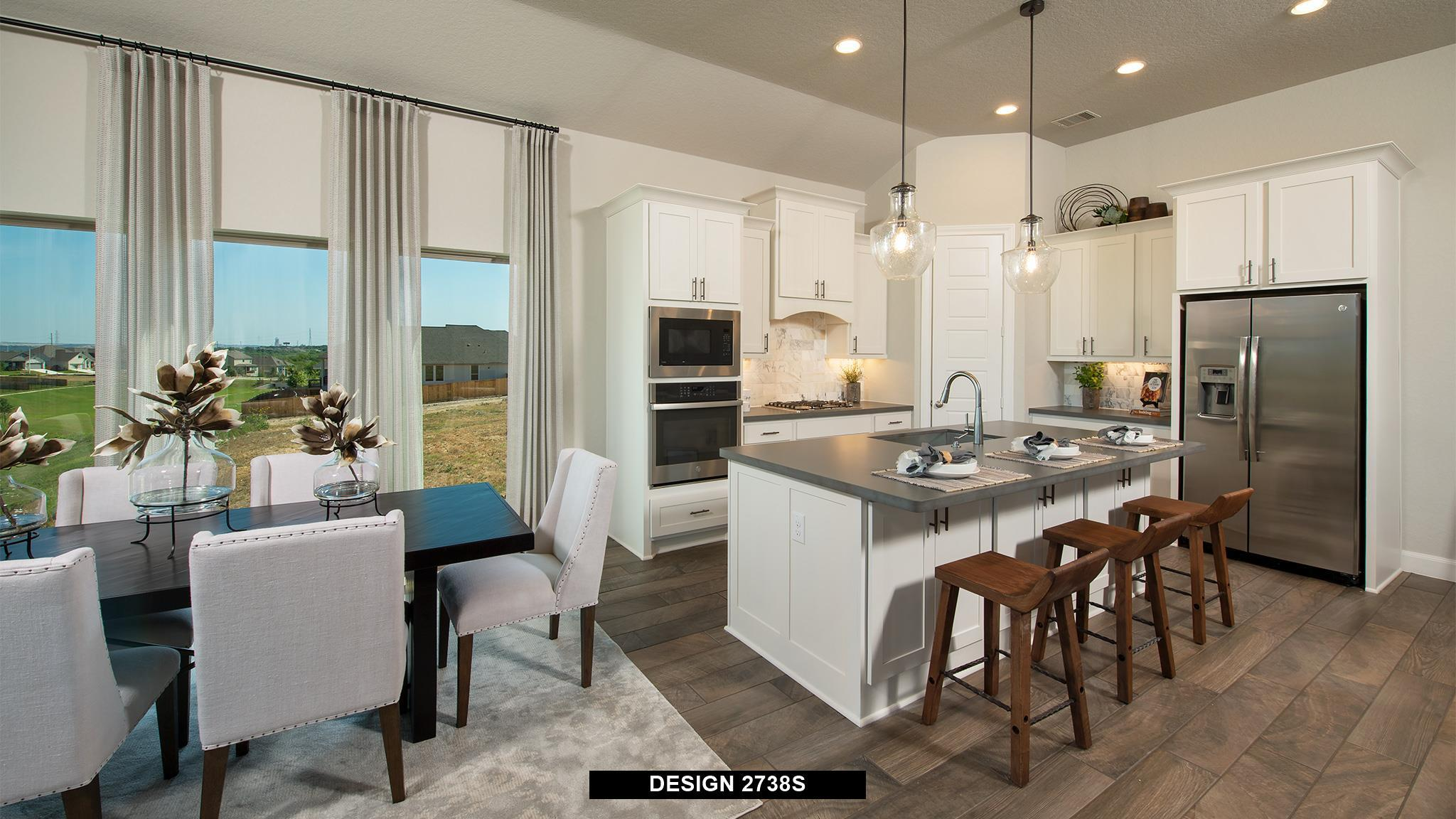 Kitchen featured in the 2738S By Perry Homes in Austin, TX