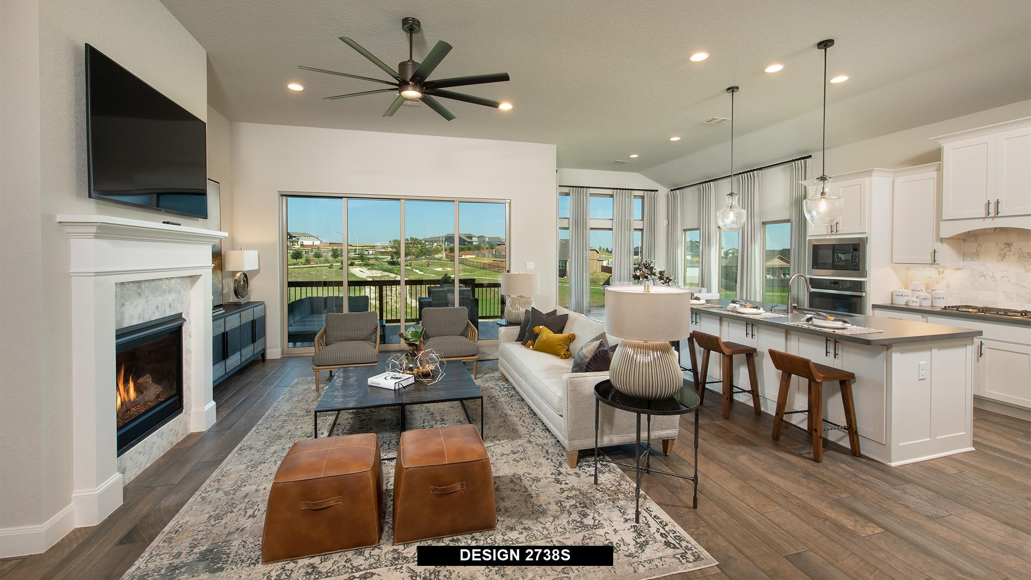 Living Area featured in the 2738S By Perry Homes in Austin, TX
