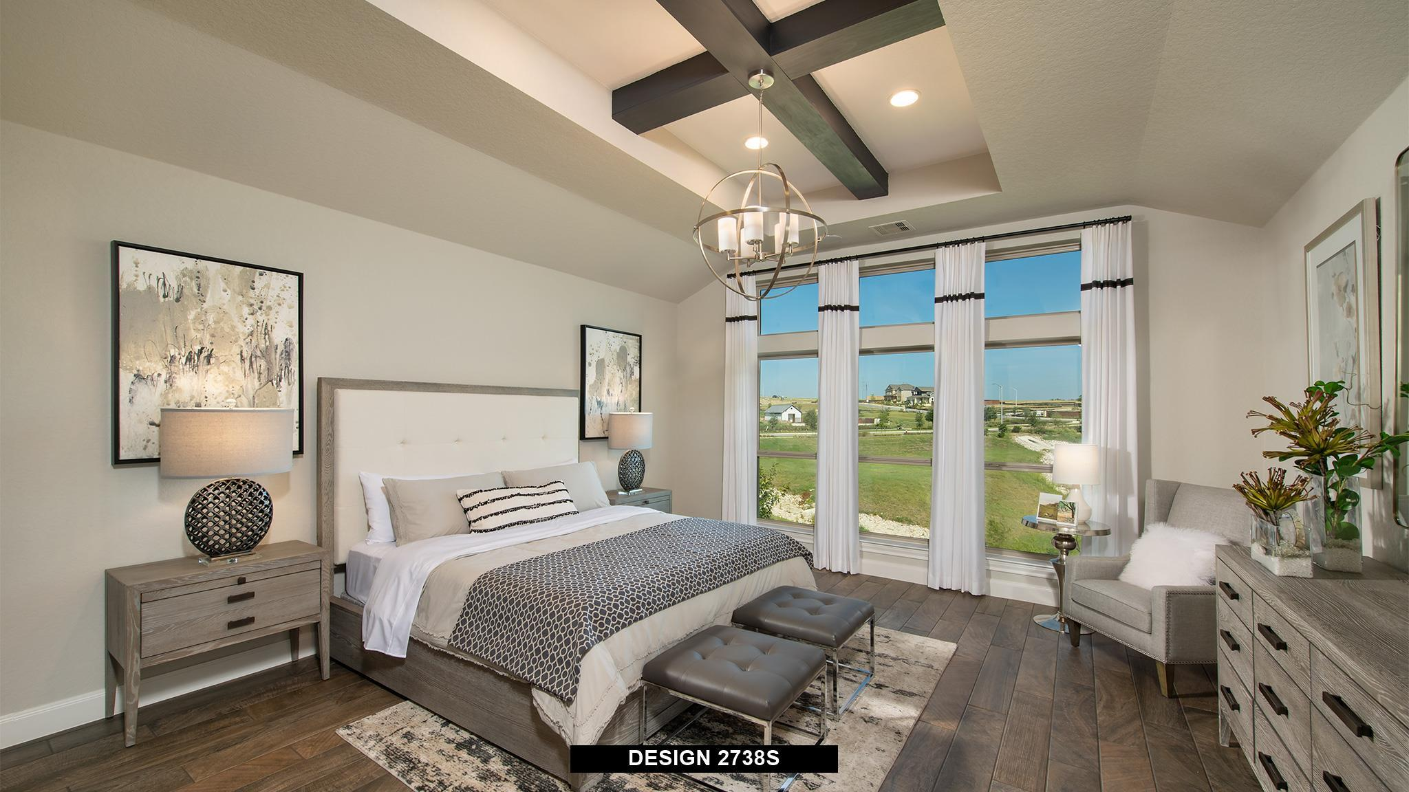 Bedroom featured in the 2738S By Perry Homes in Austin, TX