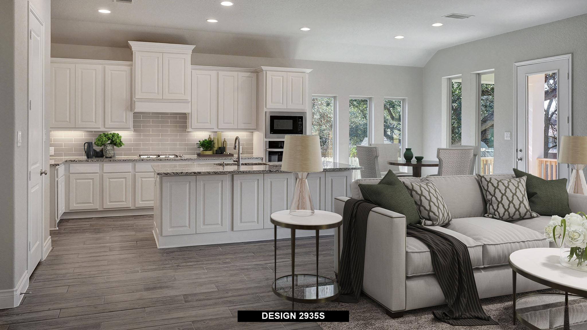 Living Area featured in the 2935S By Perry Homes in San Antonio, TX