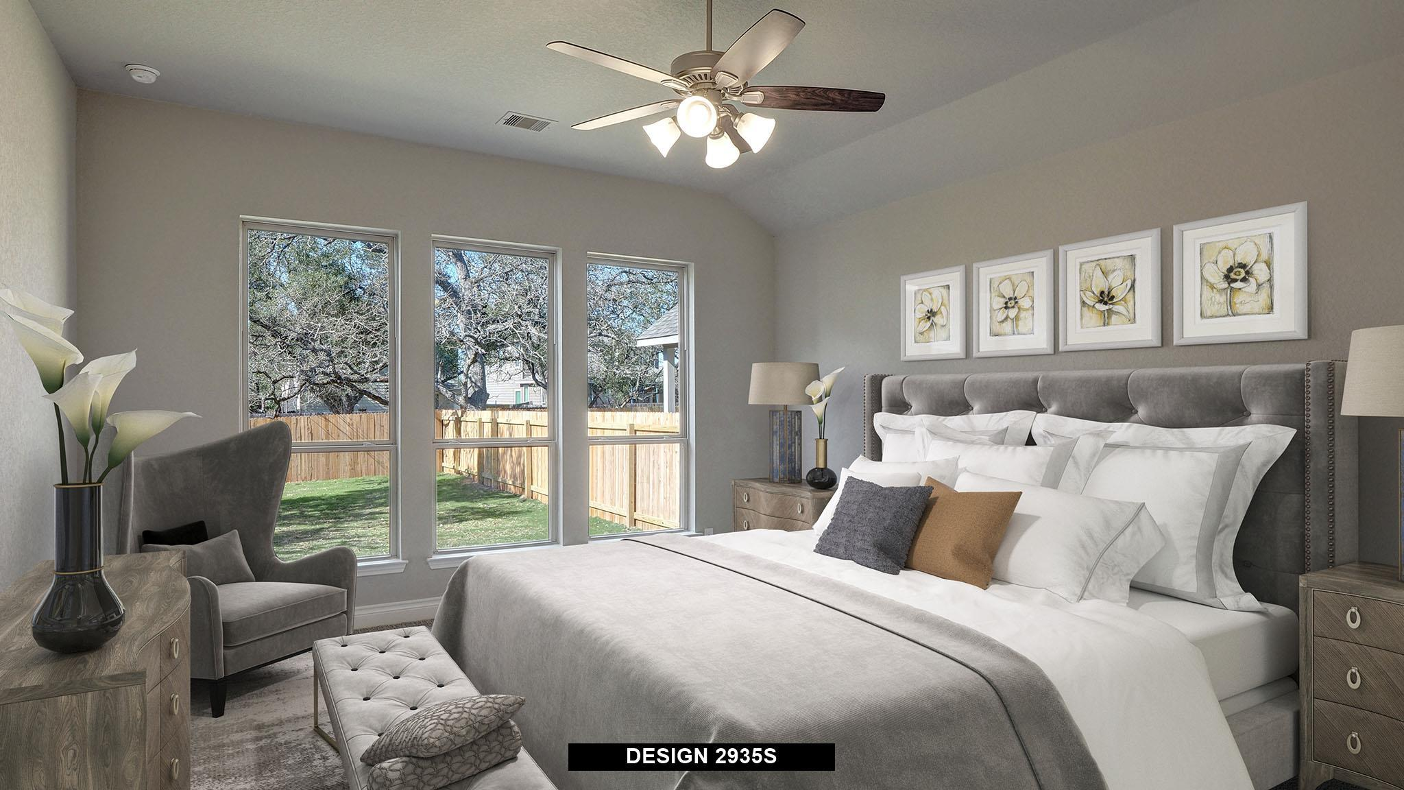 Bedroom featured in the 2935S By Perry Homes in San Antonio, TX