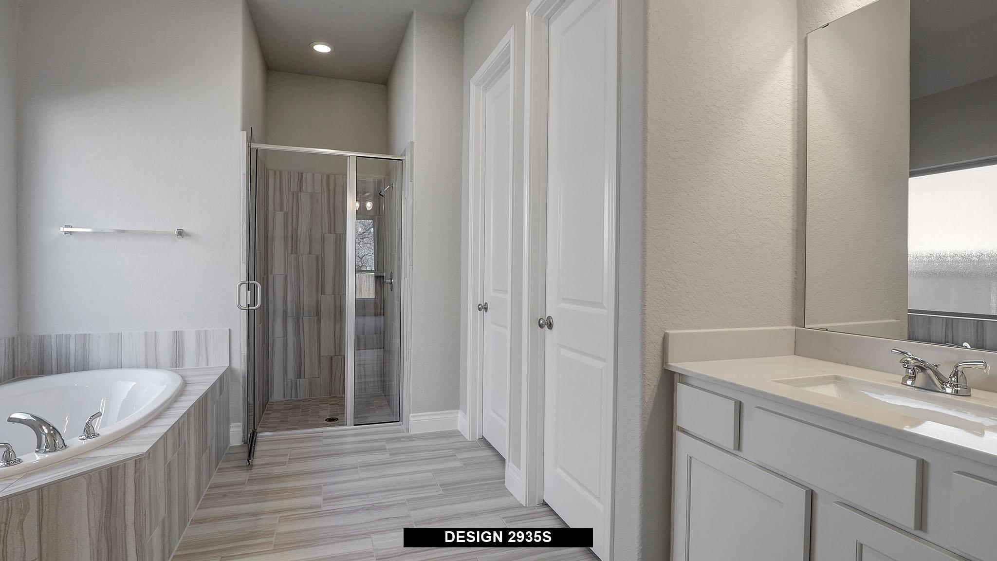 Bathroom featured in the 2935S By Perry Homes in San Antonio, TX
