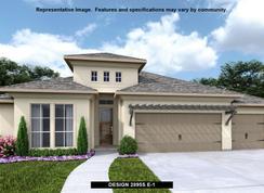 2895S - ShadowGlen 65': Manor, Texas - Perry Homes