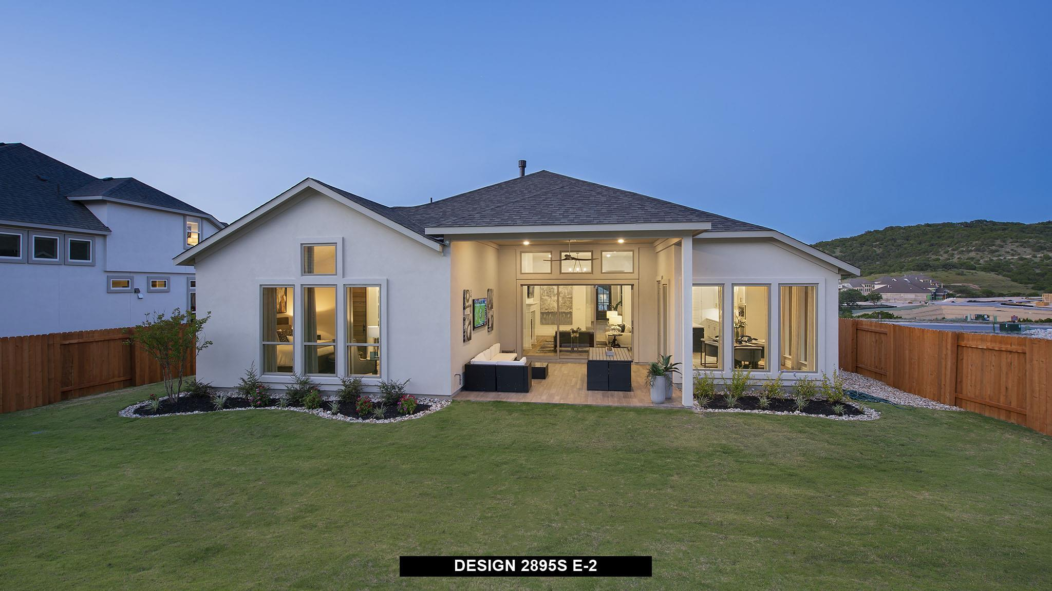 Exterior featured in the 2895S By Perry Homes in Austin, TX