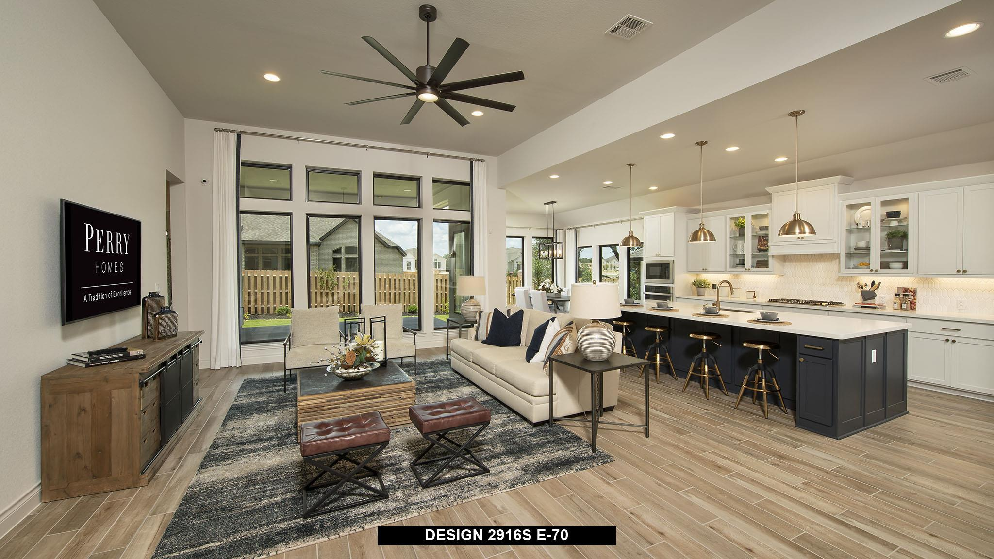 Living Area featured in the 2916S By Perry Homes in Austin, TX