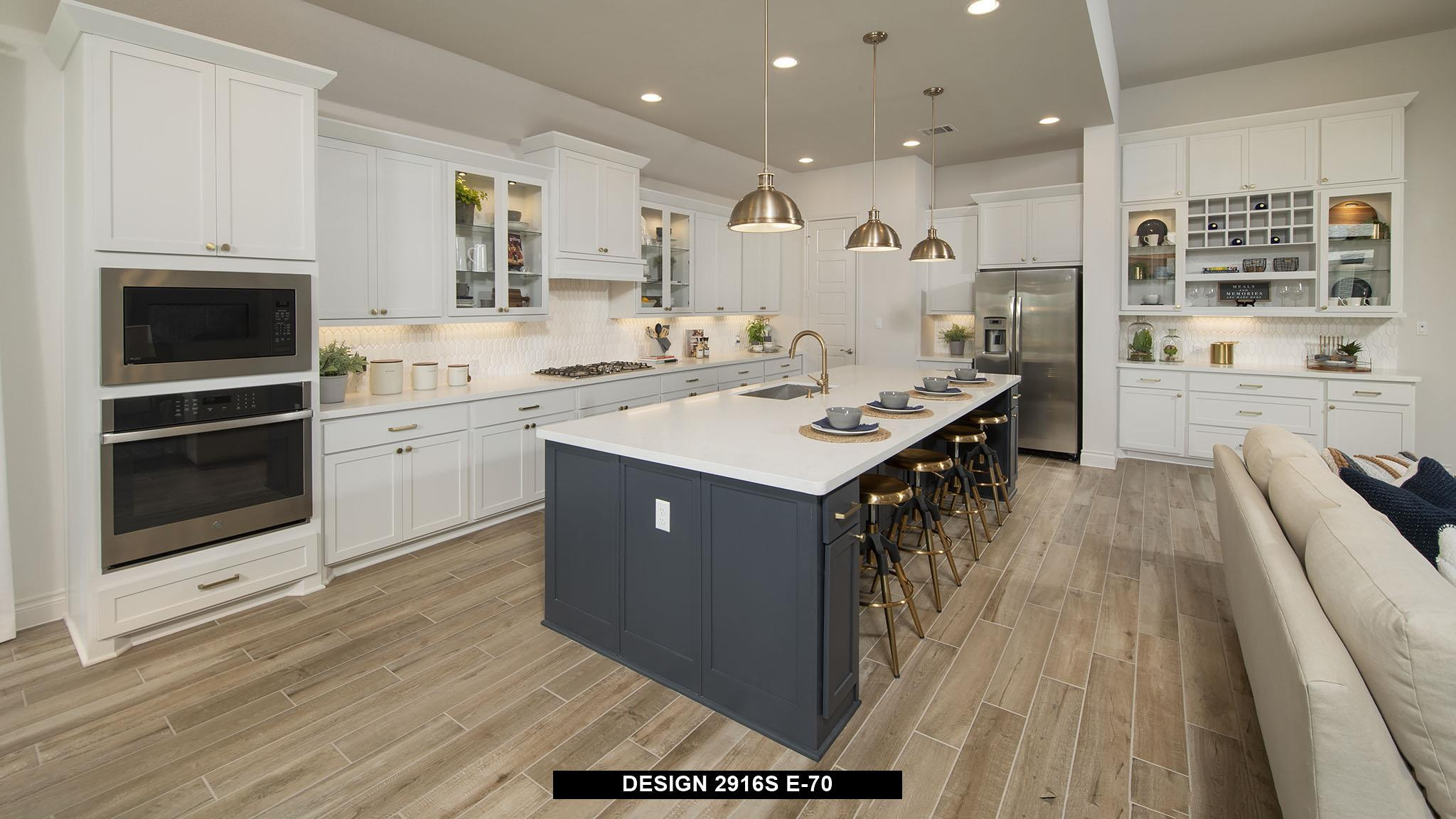 Kitchen featured in the 2916S By Perry Homes in Austin, TX